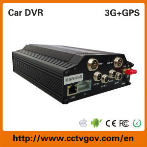 4G GPS Tracking H. 264 Network Surveillance Car DVR pictures & photos