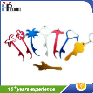 Colored Animation Aluminium Can Opener with Keyring pictures & photos