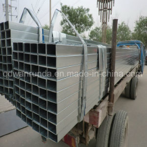 50X100X1.8mm Galvanized Steel Pipe pictures & photos