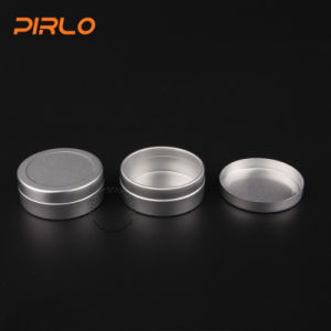 25ml 25g 25cc Wholesale Luxury Empty Aluminum Cosmetic Jar with Lid Lip Balm Hand Cream Hair Wax Packing Use pictures & photos