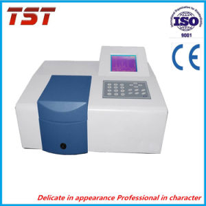 Visible Spectrophotometer (with graph display software) pictures & photos