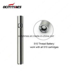 USA Market Distributors Ocitytimes 300mAh Electronic Cigarette Preheat Cbd Battery pictures & photos