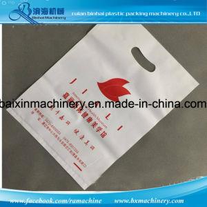 D Cut Handle Shopping Bag Making Machine pictures & photos
