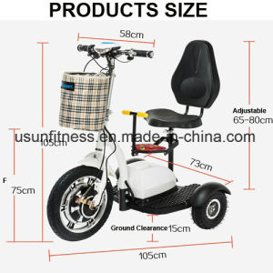 New Folding Tricycle Electric Mobility Scooter for Elderly pictures & photos