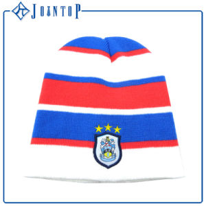 Fold Wholesale Customized Acrylic Beanie with Logo pictures & photos