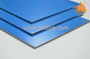 Gold Golden Mirror Brush Hairline Aluminium Composite Panel pictures & photos