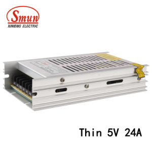 Smun SMB-120-5 120W 5VDC 24A Ultra-Thin Switching Power Supply SMPS pictures & photos
