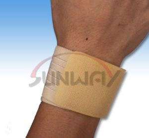 Hot Sale Soft Bandage Wrist Support Wrist Brace (BS001) pictures & photos