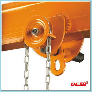 Heavy Duty Peach Type Plain Lifting Geared Trolley pictures & photos