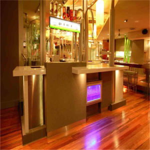 New Design High End Artificial Stone Bar Furniture LED Light Bar Counter pictures & photos