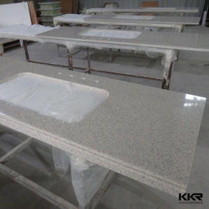 Modern Hotel Bathroom Artificial Stone Vanity Top pictures & photos