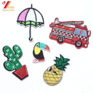 Cheap Custom Embroidery Patches for Police Garment (YB-e-040) pictures & photos