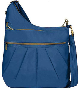 Stylish Polyester Lady′s Shoulder Bag in Medium Construction pictures & photos