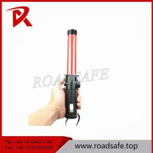 6cm Red Beautiful Traffic Hand Hold Baton Light ABS pictures & photos