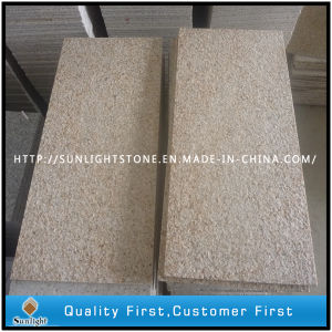 Flamed G682 Sunset Gold/Yellow Outdoor Granite Tiles Flooring pictures & photos