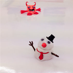 Handgum DIY Melting Snowman Toys Thinking Putty for Kids pictures & photos