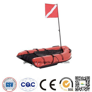 Hookah with Legal Dive Flag Free Diving Scuba Diving Boat