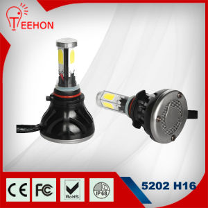 High Quality 48W 8000lm LED Headlight for 5202/H16 pictures & photos