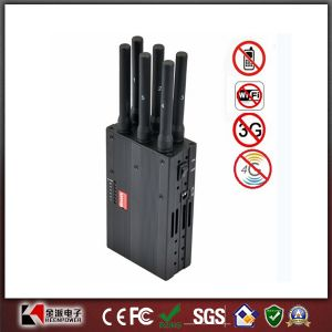 2014 New Handheld 6 Bands 3G 4G Phone Jammer Lojack Jammer GPS Jammer WiFi Jammer pictures & photos