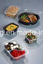 High Speed PS Food Tray Vacuum Forming Machine pictures & photos