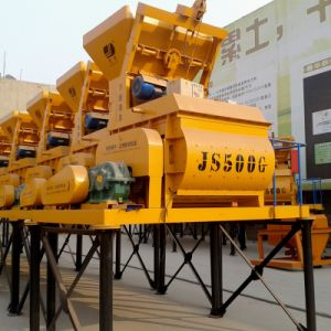 Electric Engine Js500 High Quality Hopper Concrete Mixer Price pictures & photos