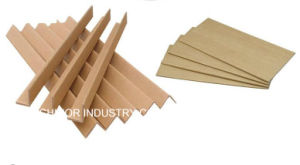 Moisture Resistant Protective Brown Kraft Paper Corner Protector for Carton pictures & photos