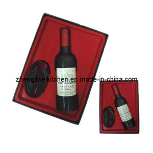 Wine Gift Set in Black Gift Box (608721) pictures & photos