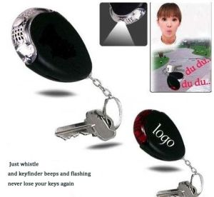 Promotion Keyring Whistle Keyfinder with LED Light (3117) pictures & photos