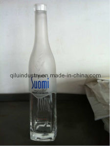 500ml Premium Vodka Glass Bottle With Frost