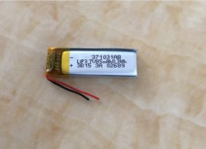 85mAh Lithium Polymer Battery 3.7V 85mAh Lithium Ion Battery pictures & photos