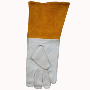Goat Leather Work Gloves pictures & photos