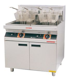 Luxury Electric Fryers---Double Tanks (FEHCD161) pictures & photos