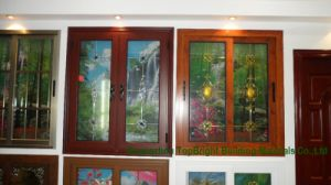 Hight Quality Aluminium Tint Glass Casement Windows Pictures pictures & photos