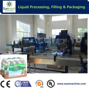 Shrink Wrapper with Pad Under The Bottles and Cans pictures & photos