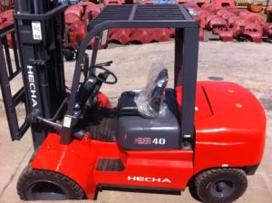 Hecha Forklift 4 Ton Diesel Forklift Truck pictures & photos