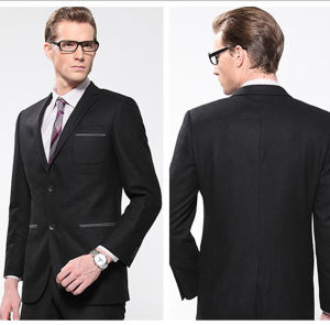Wholesale Men′s Wrinkle-Free 2 Front Button Business Suits pictures & photos