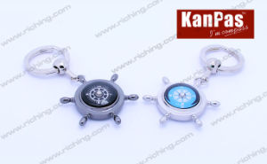 Gift Compass Keyholder, OEM Logo Is Welcome #K-Z-2 pictures & photos