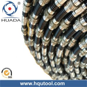Dry Cutting Diamond Wire Saw for Marble Quarry pictures & photos