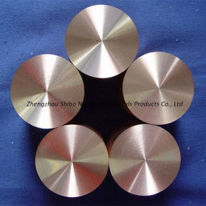 Tungsten Copper Alloy Rod, Professional W-Cu Alloy pictures & photos