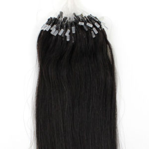 Keratin Hair Extensions Ring-X Loop Remy Human Hair pictures & photos