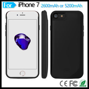 Charger Case 5200 mAh External Backup Battery Charger Cover Case Rechargeable Power Bank Cases Battery Pack for iPhone 7 4.7 Inch pictures & photos