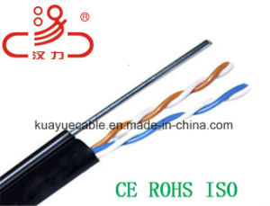 Drop Wire Outdoor 1*2*0.5cu /Computer Cable/ Data Cable/ Communication Cable/ Connector/ Audio Cable pictures & photos