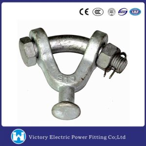 Hot DIP Galvanized Forged Carbon Steel Y Type Ball Clevis 30, 000 Lbs Pole Line Hardware pictures & photos