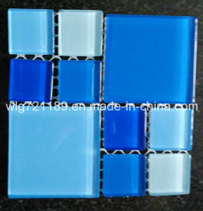 Blue Crystal Glass Mosaic for Steam Bath Room pictures & photos