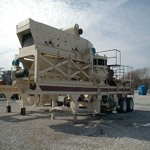 Mobile Pebble Spring Cone Crusher Station