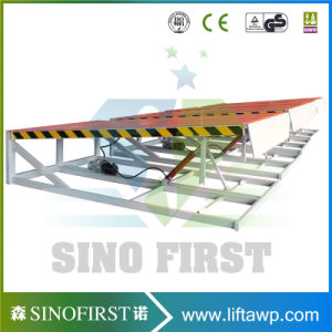 10ton 12ton Hydraulic Fixed Load Ramp Bridge pictures & photos