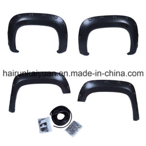 07-13 Gmc Sierra 1500 4PC Smooth Paintable Pocket Riveted Style Fender Flares pictures & photos