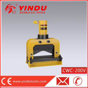25t V Shape Copper Busbar Cutting Machine (CWC-200V) pictures & photos