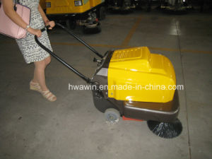 Hw-P100A Automatic Manual Push Sweeper pictures & photos