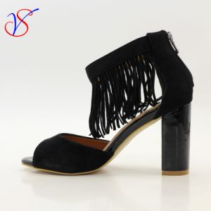 Sex Fashion High Heeled Women Lady Sandals Shoes for Socially Business Sv-Wf-009 pictures & photos